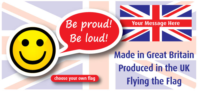 choose your own flag label banner